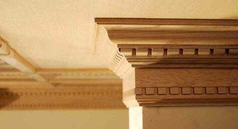 Искусная имитация деревянной детали
