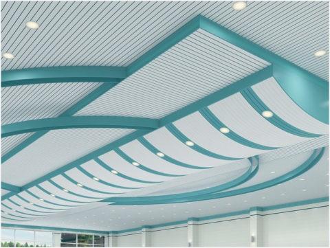Итальянский дизайн потолка