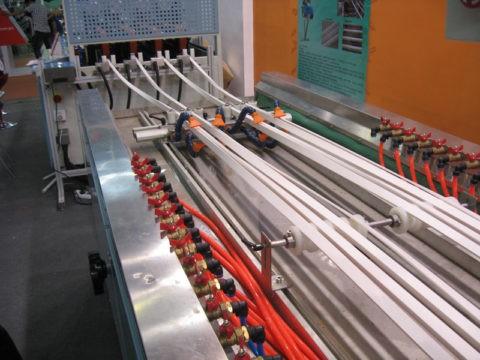 Изготовление длинномерных изделий из ПВХ