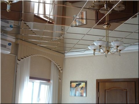 Кассетный потолок из алюминия