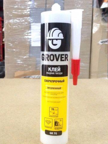 Каучуковый монтажный клей от Grover