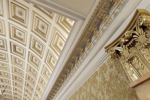 Кессонные конструкции – роскошные и величественные