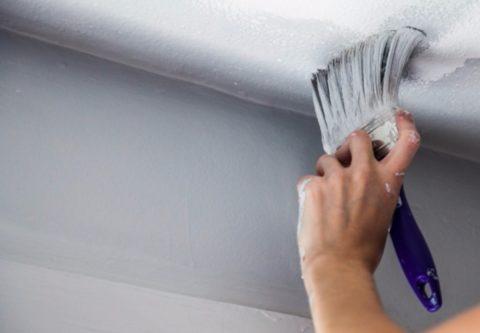 Кисть позволяет прокрасить внутренние углы