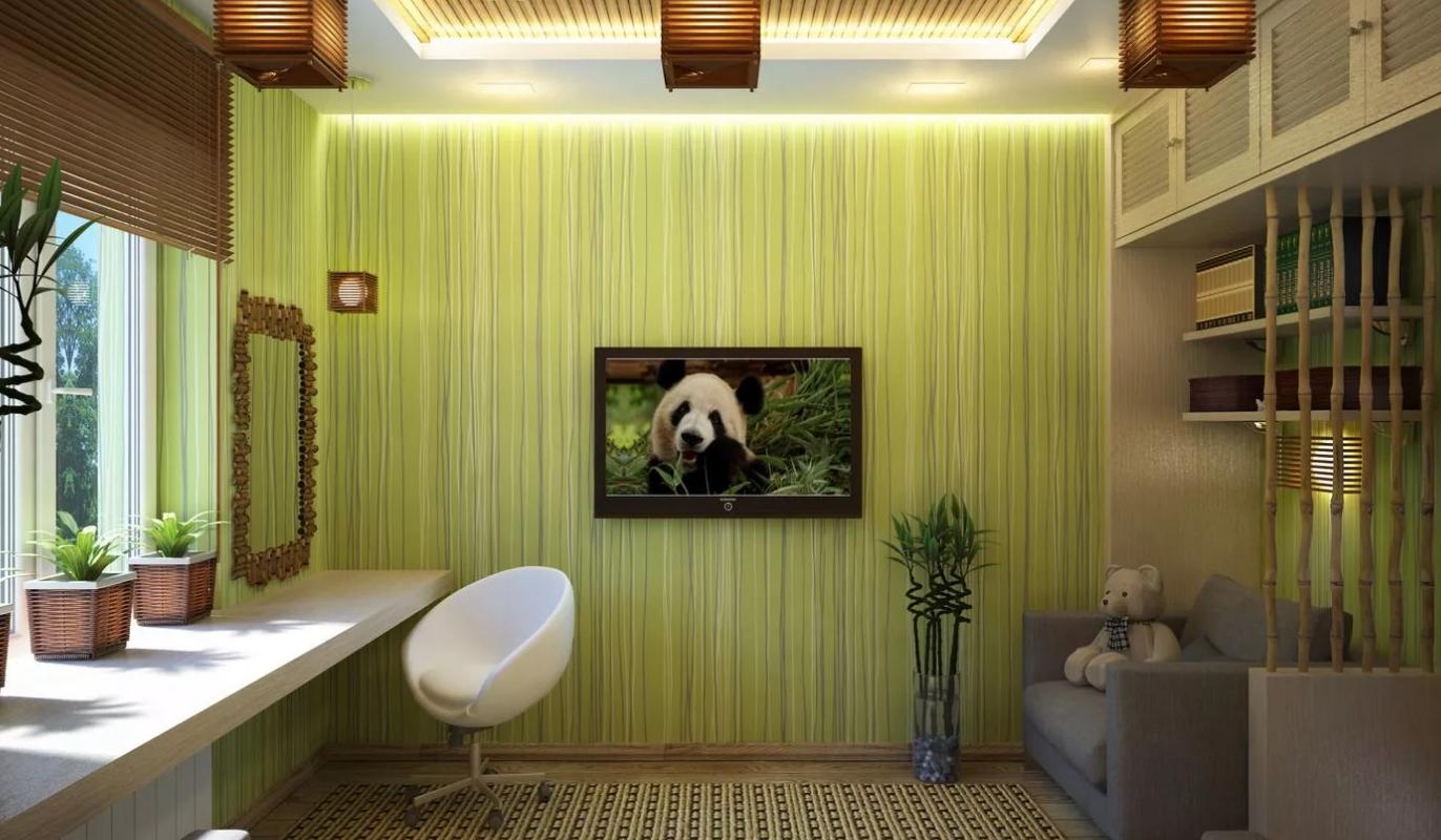 обои бамбук в интерьере фото считают самым