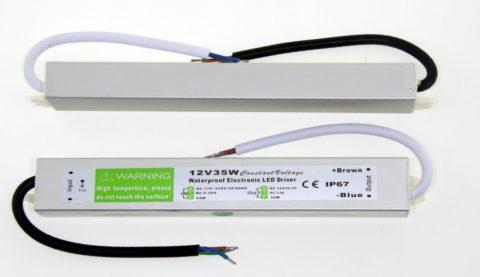 Компактный БП для светодиодной ленты