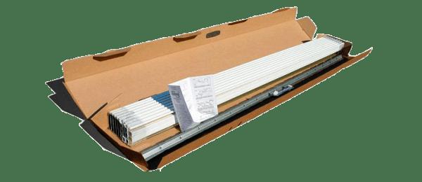 Комплект реек для подвесного потолка