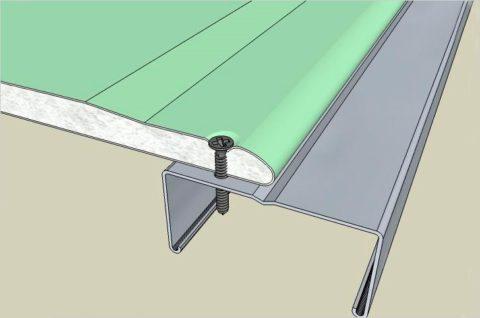 Конструкции на потолке из гипсокартона: схема крепления листов