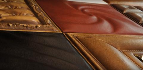 Кожаные панели выглядят дорого и благородно