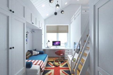 Красивая потолочная люстра в узкую комнату