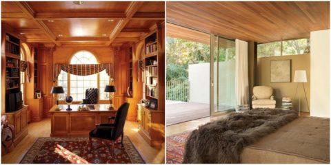 Красивые интерьеры: модульные и реечные панели из дерева