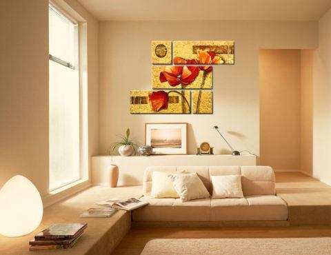 Краска – отличный способ недорого обновить интерьер