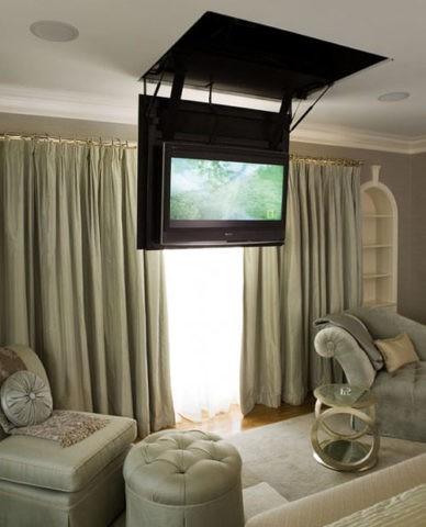 Кронштейн для телевизора к потолку, откидной
