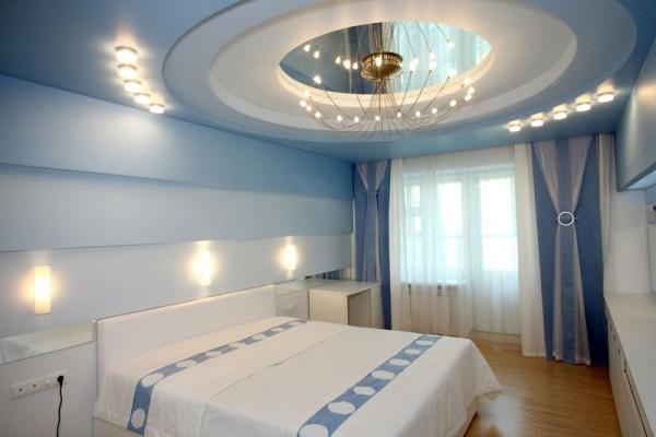Круглый потолок из гипсокартона
