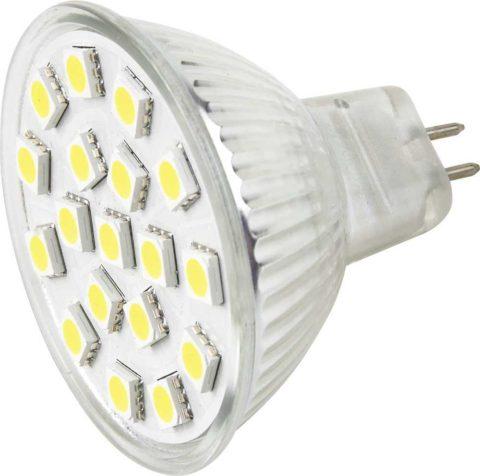 Лампа на светодиодах под освещение в натяжных потолках
