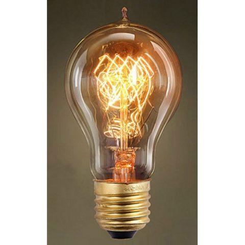 Лампа накаливания от Томаса Эдисона