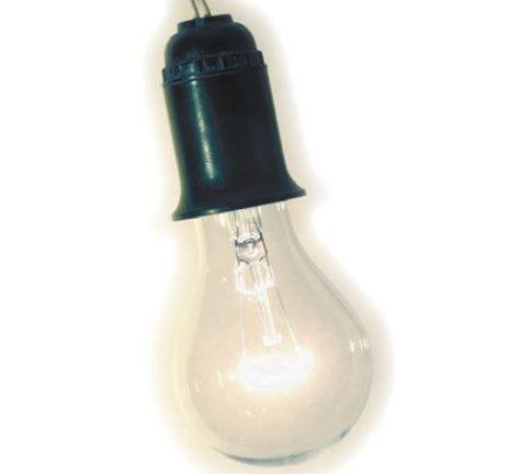 Лампочка с патроном