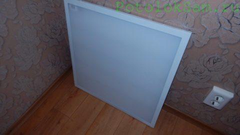 Led-панель размером 600х600 мм, предназначенная для установки в кассетный потолок