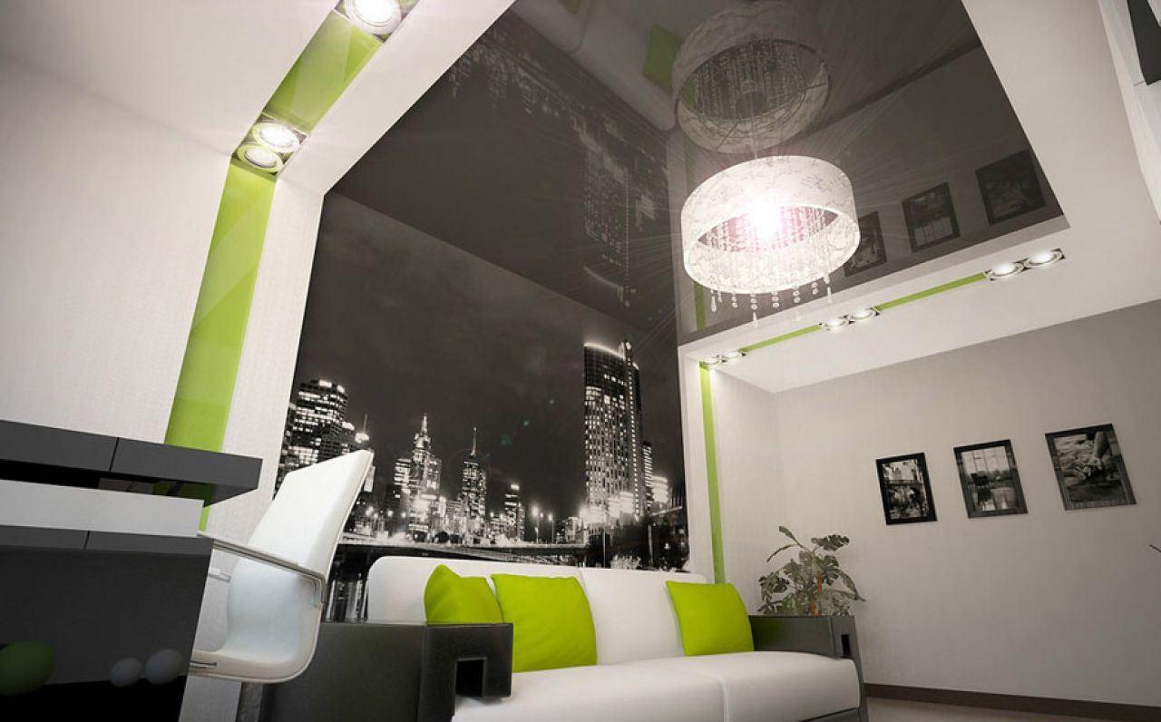 натяжные стены с потолками фото маникюр станет
