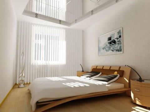 Любые отражающие поверхности визуально вдвое увеличивают высоту потолка