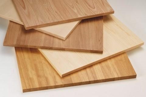 Мебельные щиты из клееной древесины