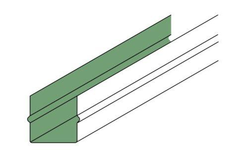 Межреечные вставки имеют специальный профиль, чтобы плотно фиксироваться между рейками