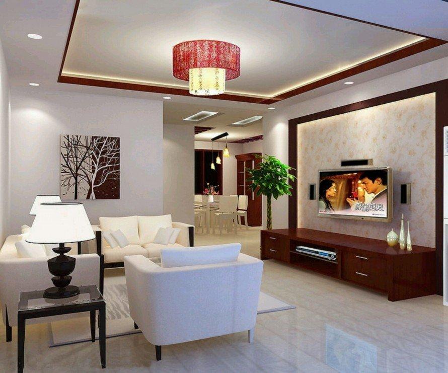 Округлые светильники широко распространены в комнатах с низкими потолками