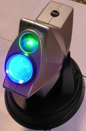Использование метода сканирования и контролируемых компьютерами зеркал