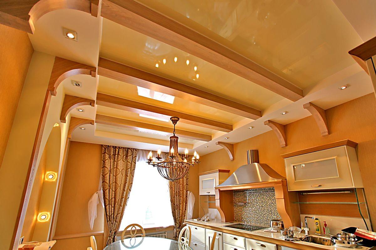 нас навесной потолок на кухню фото мне вам