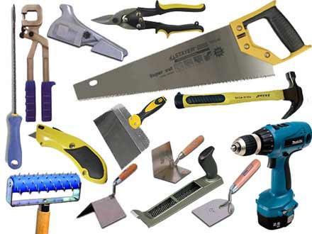 Набор инструментов для работы с ГКЛ