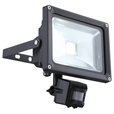 Накладной прожектор с датчиком движения