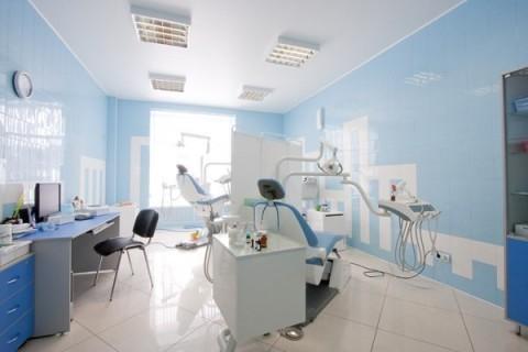 Натяжной потолок в стоматогогическом кабинете