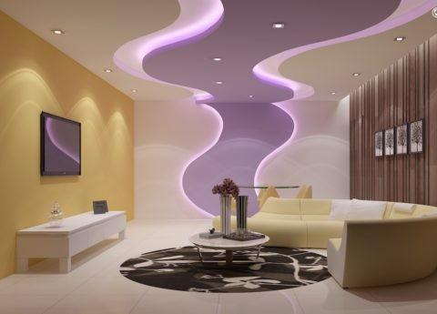 Необычный дизайн потолка