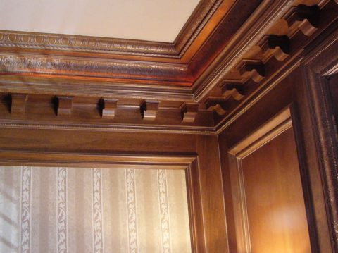 Неповторимая красота и изысканность деревянных деталей интерьера