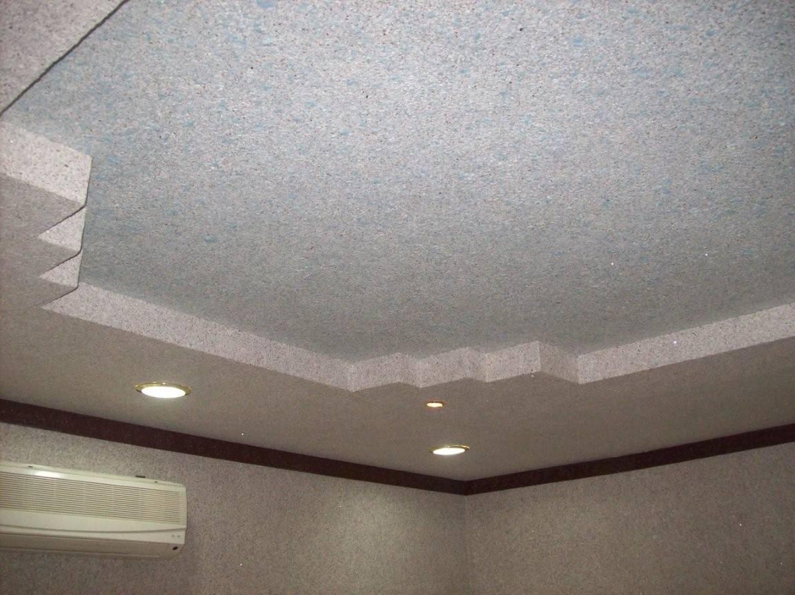 Жидкие обои потолок картинки