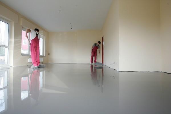 Очерёдность выравнивания: потолок, стены, пол