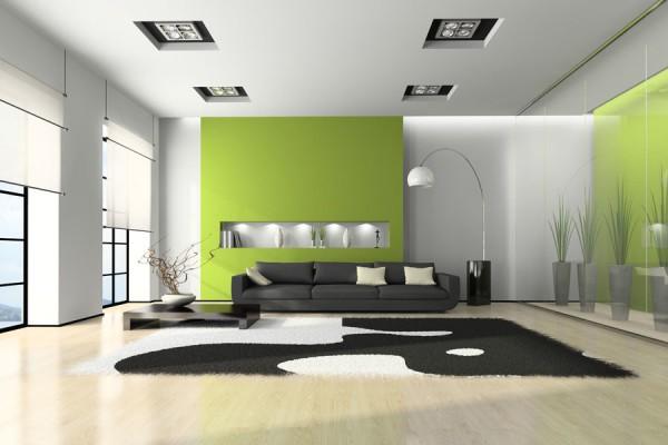 Одноуровневый гипсокартонный потолок