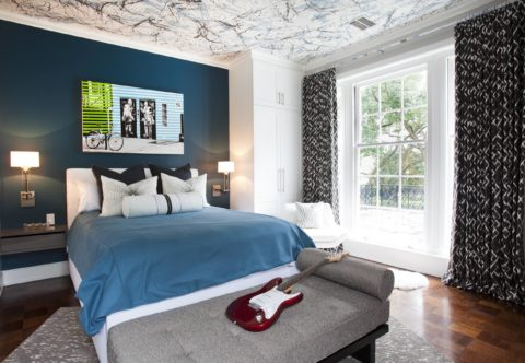 Оформление спальни