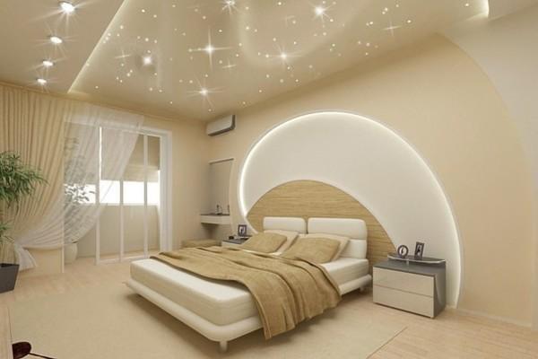 Оптоволоконная подсветка натяжного потолка