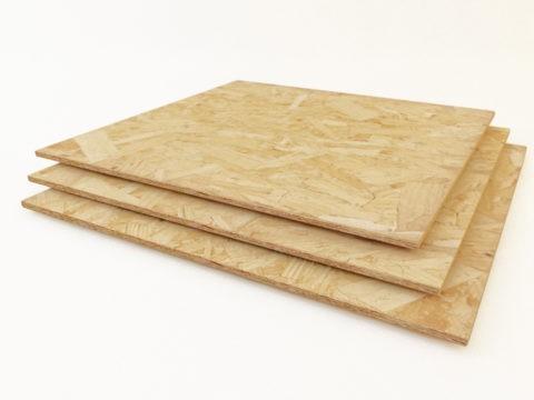 ОСБ плита идеально подходит для обшивки потолка