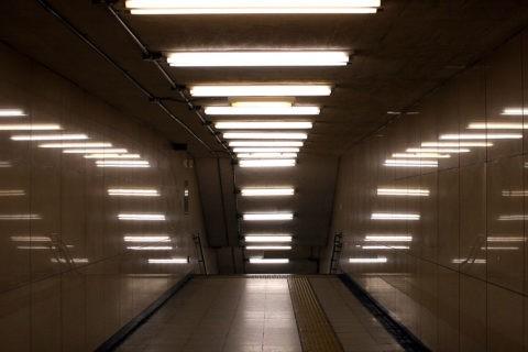 Освещение подземного перехода