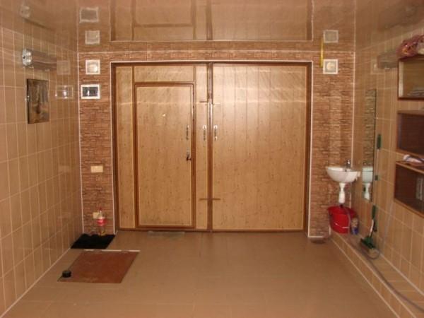 Вариант отделки потолка в гараже