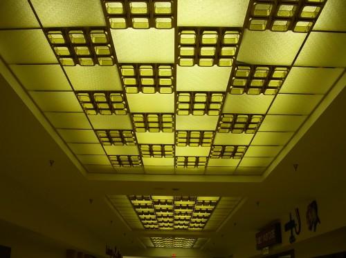 Панели из рельефного матового стекла