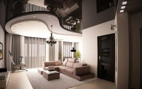 Перед вами виртуальный дизайн-проект помещения