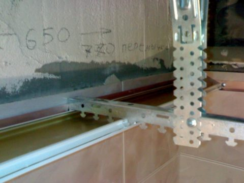 Первая смонтированная панель