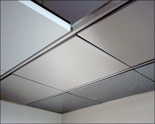 Пластиковые модули для подвесного потолка