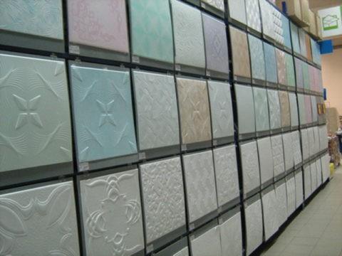 Пластиковые плиты для потолка