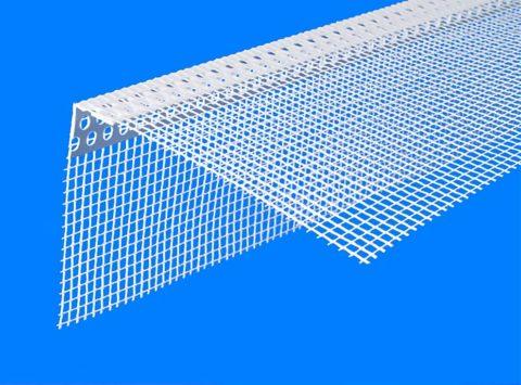 Пластиковый армирующий профиль с сеткой
