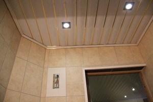 пластиковый реечный потолок