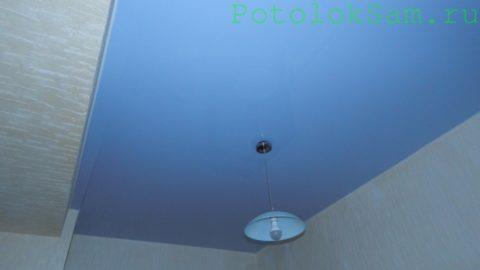 Пленочный потолок в спальне автора статьи