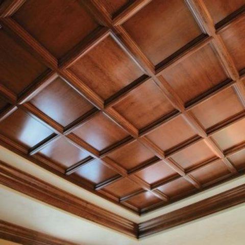 Плитка деревянная